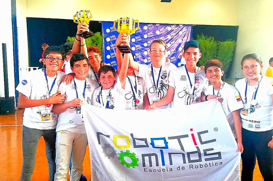 FIRST LEGO LEAGUE, ROBOTIC MINDS
