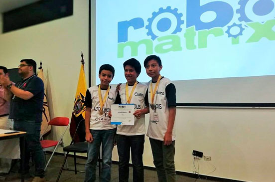 INFOMATRIX 2018 ROBOTIC MINDS